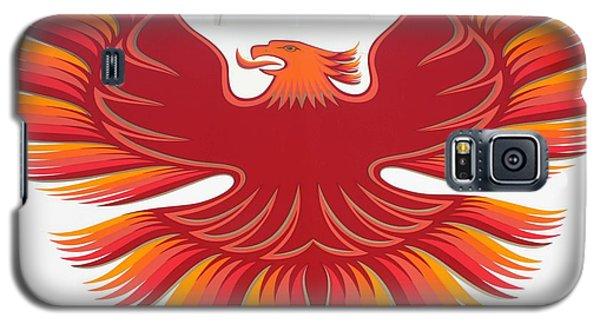 1979 Pontiac Firebird Emblem Galaxy S5 Case by John Telfer
