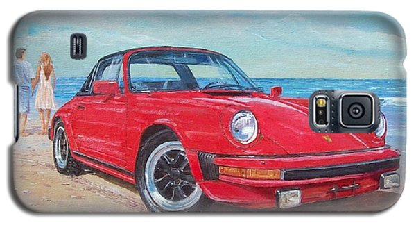 1985 Porsche 911 Targa Galaxy S5 Case