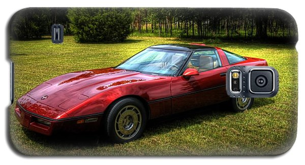 Galaxy S5 Case featuring the photograph 1986 Corvette by Donald Williams