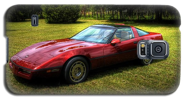 1986 Corvette Galaxy S5 Case by Donald Williams