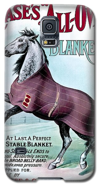 19th C. Chase's Horse Blankets Galaxy S5 Case