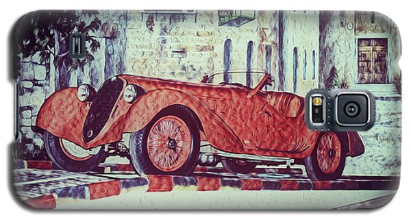 Galaxy S5 Case featuring the painting 1937 Alfa Romeo 8c 2900a by Boris Mordukhayev