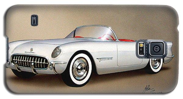 1953 Corvette Classic Vintage Sports Car Automotive Art Galaxy S5 Case