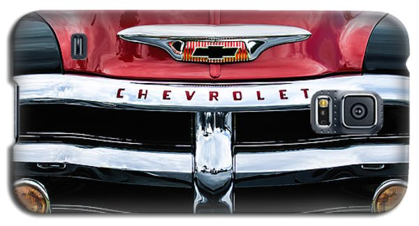 1955 Chevrolet 3100 Pickup Truck Grille Emblem Galaxy S5 Case