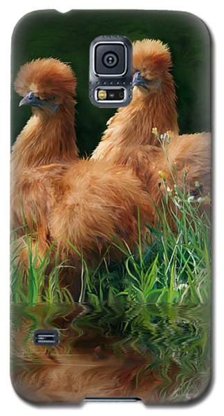 54. 2 Buffs This One Can Be Printed Galaxy S5 Case