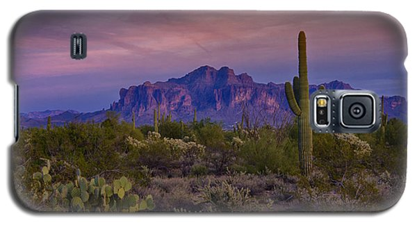 A Beautiful Desert Evening  Galaxy S5 Case