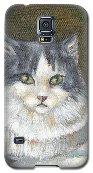 A Cat Of Peter Paul Rubens Style Galaxy S5 Case by Jingfen Hwu