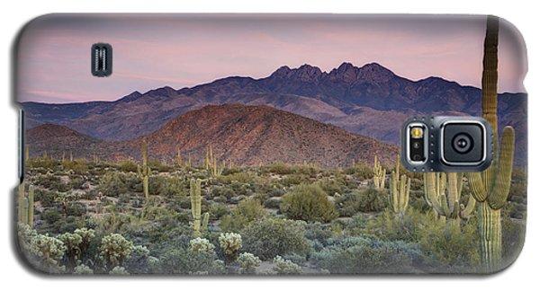 A Desert Sunset  Galaxy S5 Case