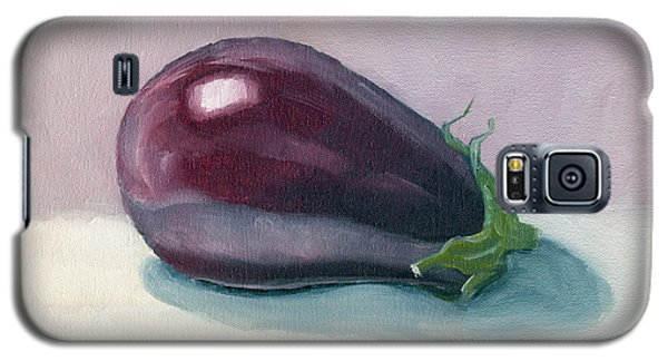 A Is For Aubergine Galaxy S5 Case