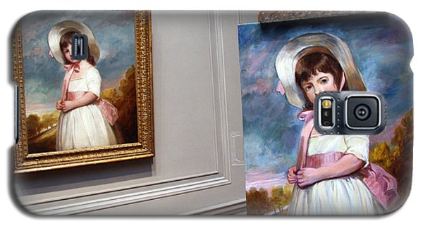 Galaxy S5 Case featuring the photograph A Painting Of A Painting by Cora Wandel