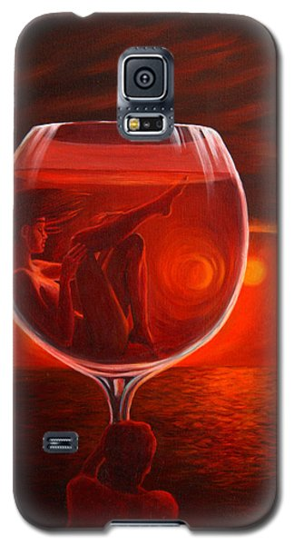 A Toast To Love And Wine Galaxy S5 Case