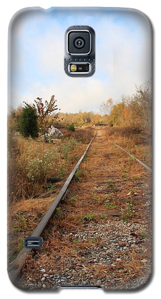 Abandoned Tracks Galaxy S5 Case by Melinda Fawver