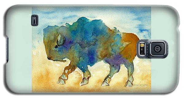 Abstract Buffalo Galaxy S5 Case by Nan Wright