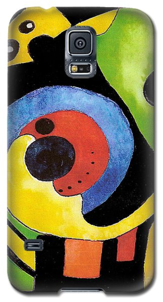 Galaxy S5 Case featuring the painting Abstract Dream by Nan Wright