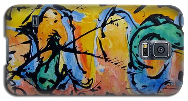 Abstract Galaxy S5 Case by Ellen Anthony