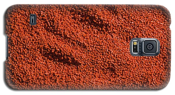 Abstract Texture - Red Galaxy S5 Case