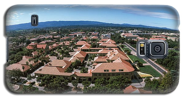 Aerial View Of Stanford University Galaxy S5 Case by Panoramic Images