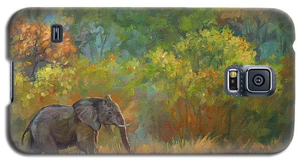African Elephant Galaxy S5 Case