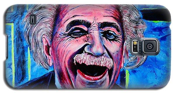 Albert Einstein Galaxy S5 Case by Viktor Lazarev