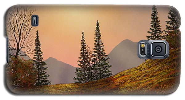 Alpine Sunset Galaxy S5 Case