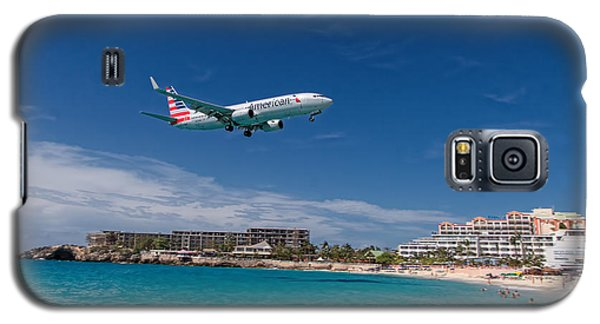 American Airlines At St Maarten Galaxy S5 Case