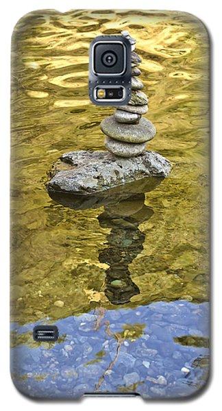 American River Rock Art Galaxy S5 Case