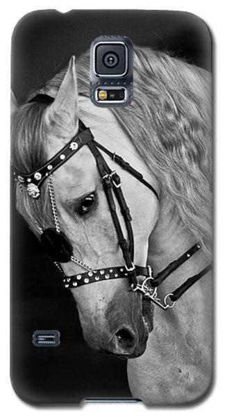 Galaxy S5 Case featuring the photograph Andalusian D9098 by Wes and Dotty Weber