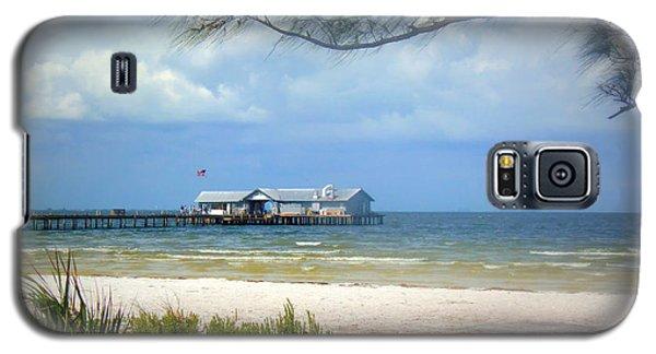 Anna Maria Island Pier Galaxy S5 Case by Lou Ann Bagnall
