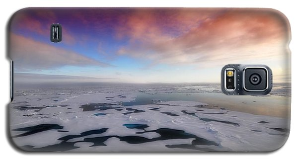 Galaxy S5 Case featuring the photograph Arctic Sea Ocean Water Antarctica Winter Snow by Paul Fearn