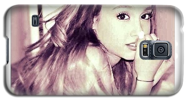 Nerd Galaxy S5 Case - ♡||#arianagrande by Cherlee Games