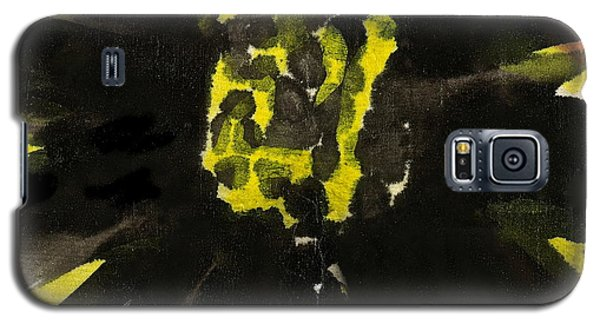 Galaxy S5 Case featuring the painting Asian Sunflower by Joan Reese