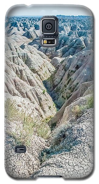 Galaxy S5 Case featuring the photograph Badlands Lan409 by G L Sarti