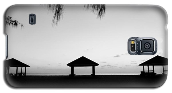 Galaxy S5 Case featuring the photograph Beach Huts by Amar Sheow