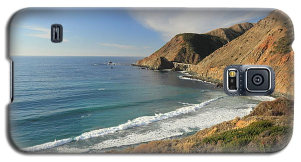 Galaxy S5 Case featuring the photograph Big Sur Bridge by Scott Rackers