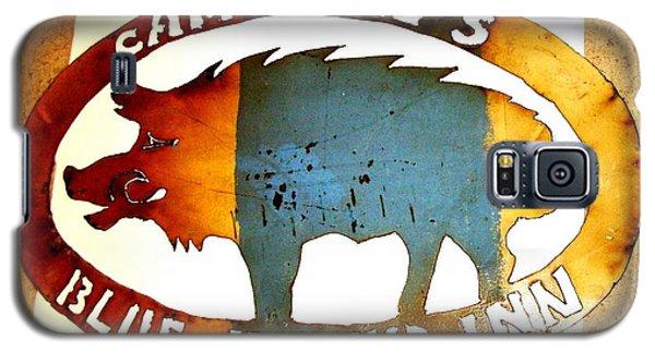 Blue Boar Inn Galaxy S5 Case by Larry Campbell