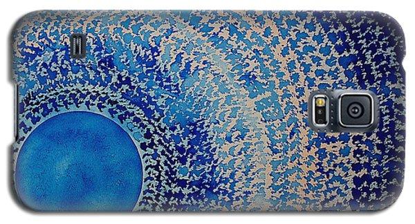 Blue Kachina Original Painting Galaxy S5 Case