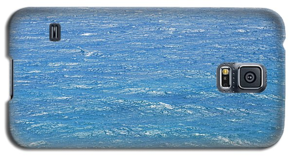 Galaxy S5 Case featuring the photograph Blue Waters by George Katechis