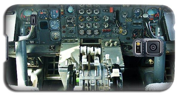 B727 Cockpit Galaxy S5 Case