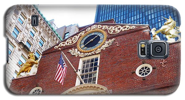 Boston Old State House Galaxy S5 Case by Cheryl Del Toro