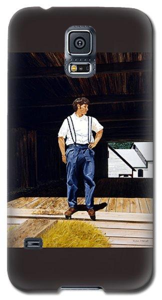 Boy In The Barn Galaxy S5 Case