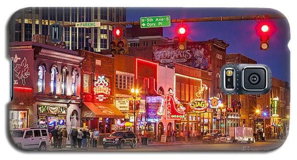 Broadway Street Nashville Galaxy S5 Case