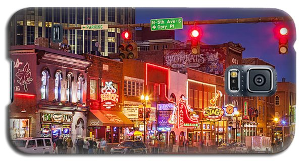 Broadway Street Nashville Galaxy S5 Case