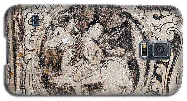 Buddhist Mural Galaxy S5 Case