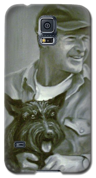 Bush And Barney Galaxy S5 Case