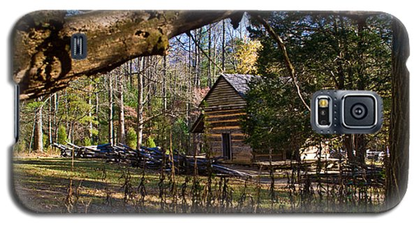Cades Cove Cabin  Galaxy S5 Case
