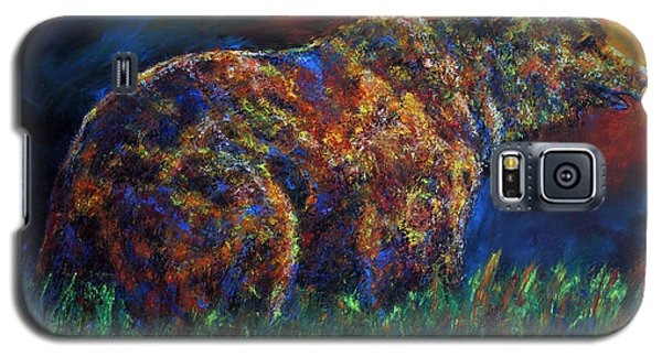 Galaxy S5 Case featuring the painting Calm Before The Storm by Jennifer Godshalk