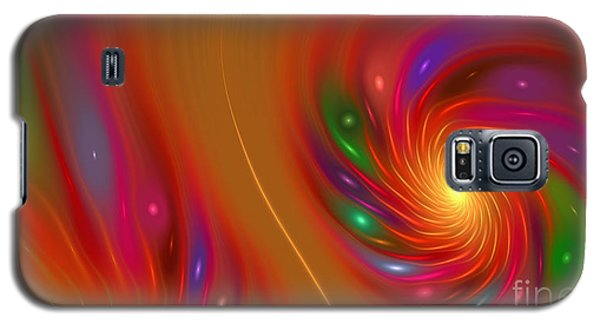 Galaxy S5 Case featuring the digital art Candy Nebula by Hanza Turgul