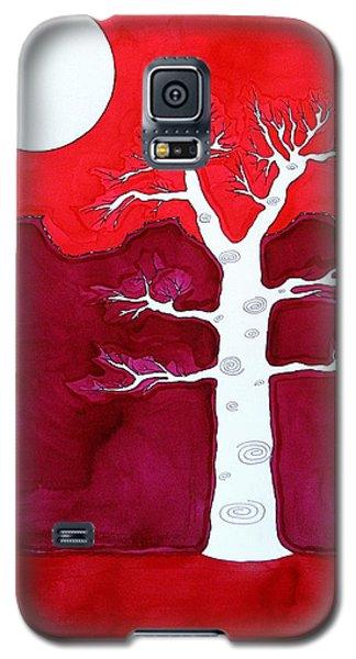 Canyon Tree Original Painting Galaxy S5 Case