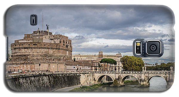 Castle St Angelo In Rome Italy Galaxy S5 Case
