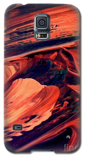 Galaxy S5 Case featuring the painting Catalyst by Jacqueline McReynolds
